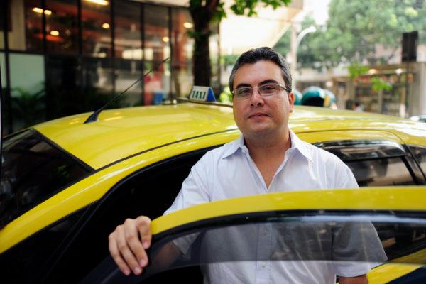 taxi driver la city cab